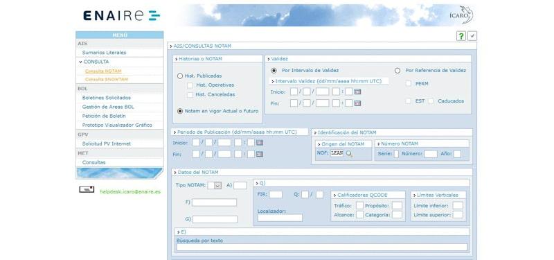 8 Enlaces que debes conocer para planificar tu vuelo IV