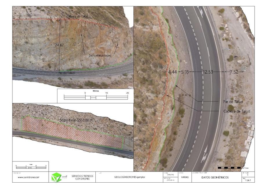 Carretera de Taludes - Zenit Drones