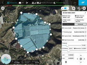 3D Map Área DJI GS PRO