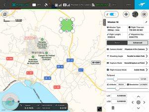 Mapa Área 3D