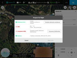 Preparación del Vuelo - Zenit Drones