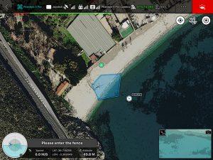 Virtual Fence (Fuera del Área) DJI GS PRO