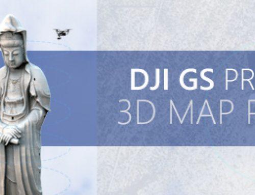 DJI GS PRO: 3D MAP POI, UNA NUEVA MEJORA