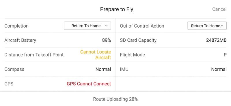 15_Carga_mision_DJI_PILOT_Zenit_Drones
