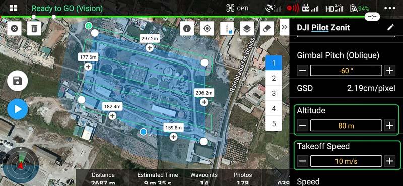 7.Angulo_inclinacion_gimbal_DJI_PILOT_Zenit_Drones